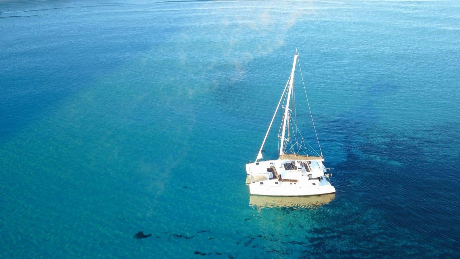 villasimius gita in catamarano